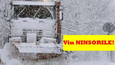 Photo of ALERTĂ METEO ninsori – Vin ninsorile! Iarna începe să-și intre în drepturi