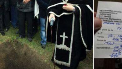 Photo of Părintele care a solicitat o sumă de bani pentru înmormântare, își poate pierde ACUM parohia