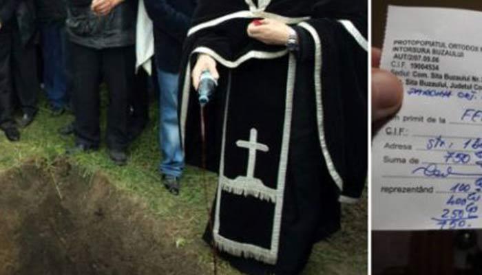 Preotul care cere bani