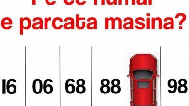 Photo of Test parcare mașină. Poti raspunde in 20 de secunde? Tu ştii pe ce număr e parcată maşina?