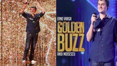 """Photo of Primul Golden Buzz din sezonul 10 al emisiunii Românii au talent! """"Un băiat care spală vase și…"""