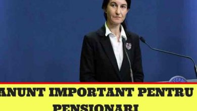Photo of Veste buna! Se dau bani in plus la pensii. Anuntul ministrului Muncii