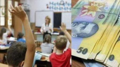 Photo of Guvernul obligă primăriile să mărească bursele elevilor. Măsura se va aplica din acest an școlar