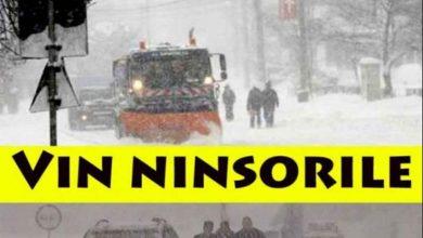 Photo of Vine iarna! Vremea se schimba radical. ANM a emis Cod galben de vant puternic si ninsori in 17 judete