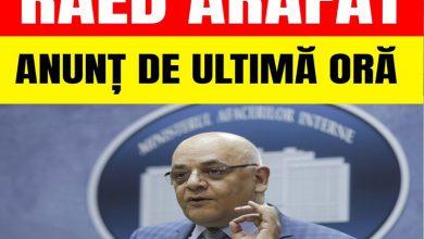"""Photo of Anuntul lui Raed Arafat : """"Românii Își Vor Petrecere Sărbătorile În Izolare…"""""""