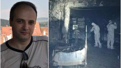 Photo of El este medicul erou din Neamț, care a intrat în flăcări după pacienți, atunci când a luat foc secția ATI. Foto