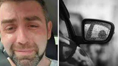 Photo of Un tânăr tată, îngropat în datorii, s-a pozat plângând în mașină, înainte de a se sinucide. Sfâșietor ce a scris în biletul de adio