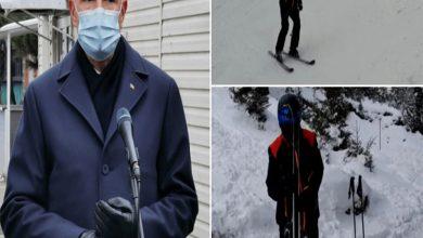 Photo of Klaus Iohannis, filmat la schi pe pârtia de la Păltiniş la o zi după evenimentele de la Institutul Matei Balş