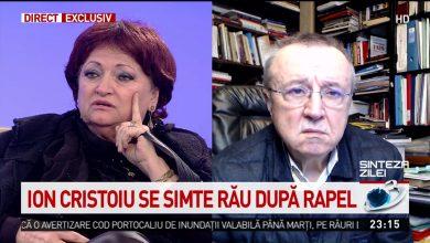 Photo of Reacția medicului Monica Pop după ce Ion Cristoiu a anunțat că se simte rău după rapel