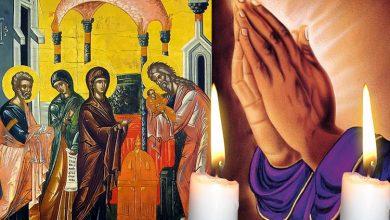 Photo of Întâmpinarea Domnului, 2 februarie. Rugăciunea pe care trebuie să o rostești astăzi